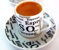 Egy csésze eszpresszó